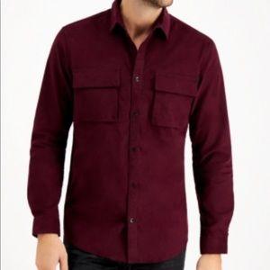 Inc Men's Cord Shirt